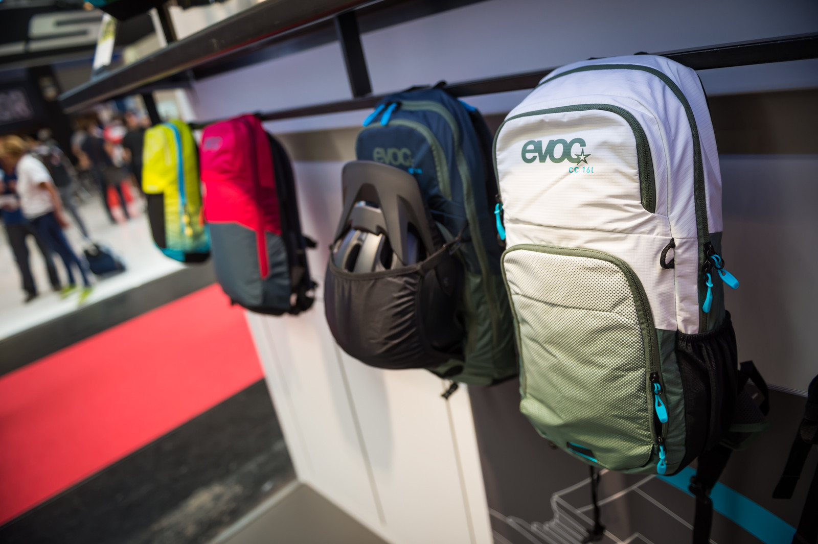 Evoc Climate Control Packs and 3L Hip Pack - EUROBIKE - 2017 Mountain Bike Apparel and Protective Gear - Mountain Biking Pictures - Vital MTB