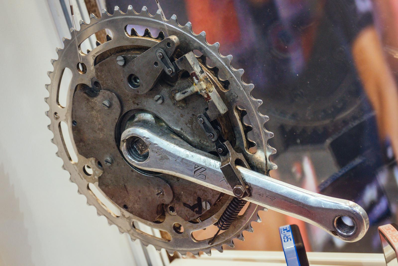 SRM Power Meter Evolution - EUROBIKE - 2017 Mountain Bike Components - Mountain Biking Pictures - Vital MTB