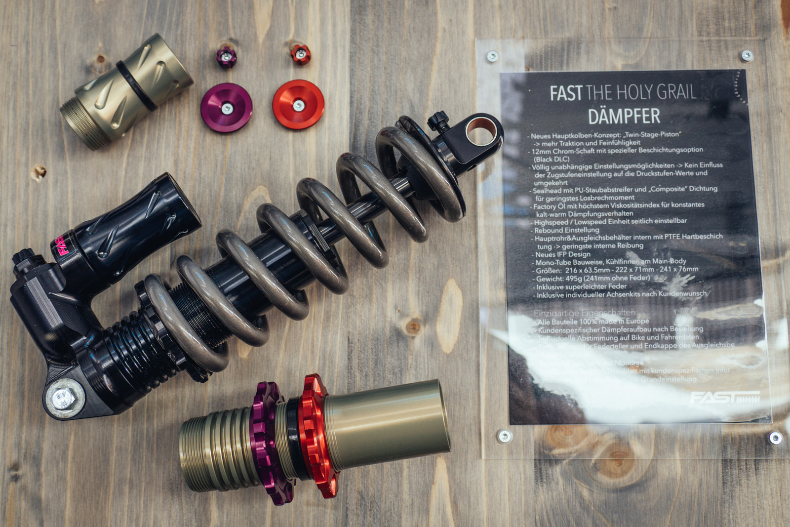 Fast Suspension Products - EUROBIKE - 2017 Mountain Bike Components - Mountain Biking Pictures - Vital MTB