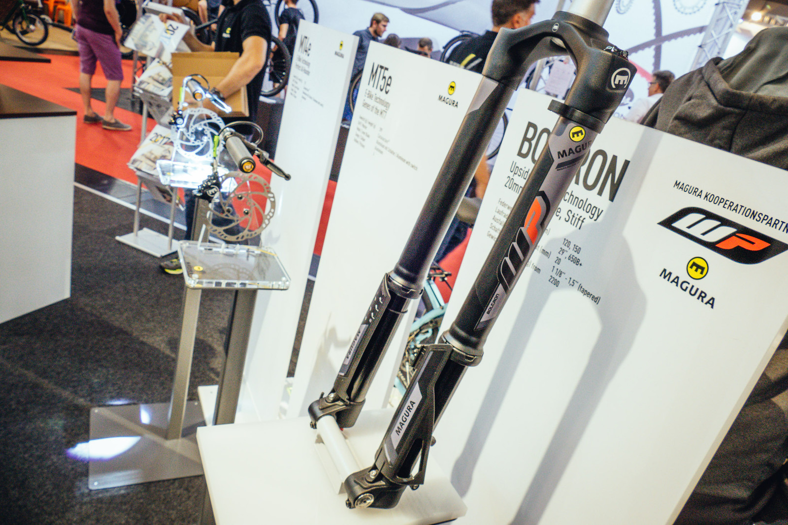 Magura Boltron Inverted Fork - EUROBIKE - 2017 Mountain Bike Components - Mountain Biking Pictures - Vital MTB