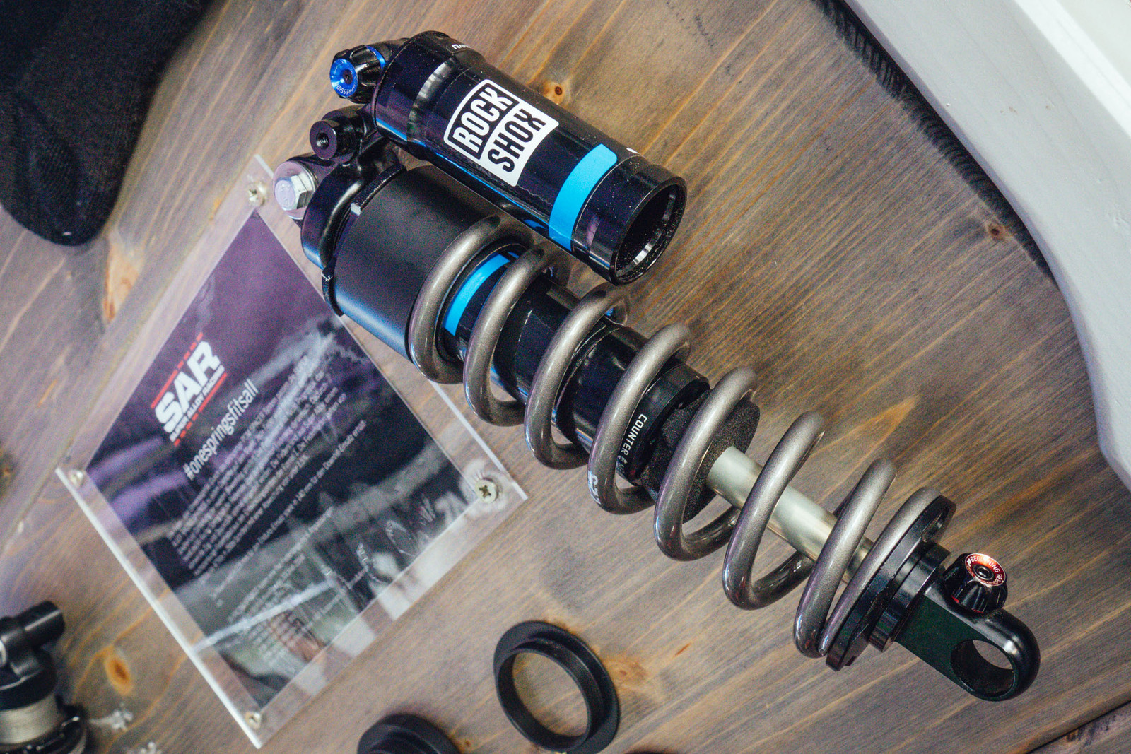 Super Alloy Racing Springs - EUROBIKE - 2017 Mountain Bike Components - Mountain Biking Pictures - Vital MTB