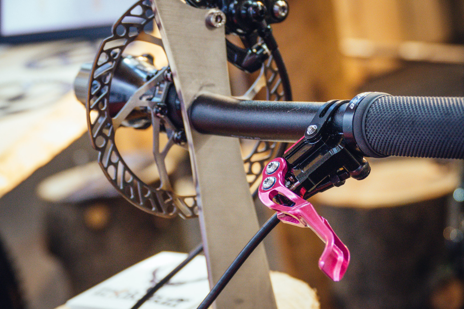 Ultra Light TrickStuff Hydraulic Disc Brakes - EUROBIKE - 2017 Mountain Bike Components - Mountain Biking Pictures - Vital MTB
