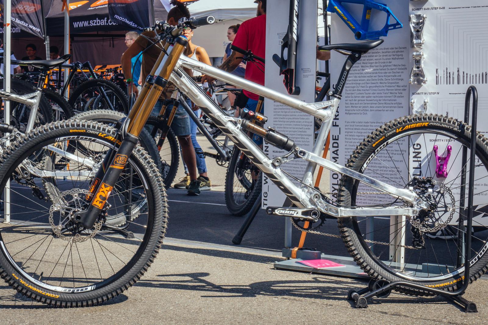 Nicolai ION-G19 QLFLINE - EUROBIKE - 2017 Downhill Bikes and Gear - Mountain Biking Pictures - Vital MTB