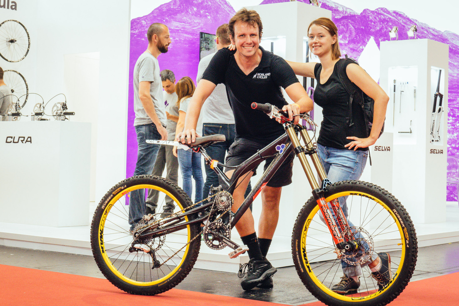 Norland Cycles Blast from the Past - EUROBIKE - 2017 Downhill Bikes and Gear - Mountain Biking Pictures - Vital MTB