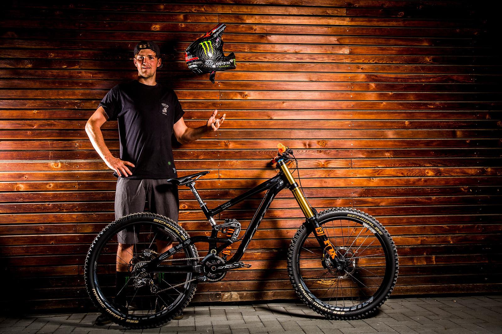 Brendan Fairclough's Scott Gambler | 2016 World Champs Bike - PIT BITS & BIKES - 2016 World Champs - Mountain Biking Pictures - Vital MTB