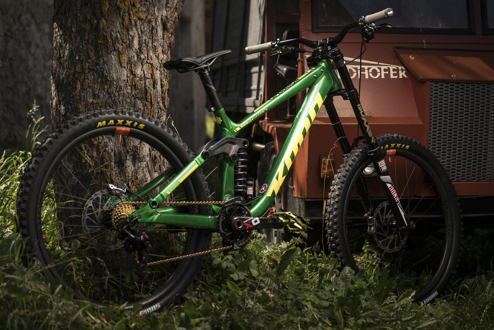 Connor Fearon's Kona Supreme Operator | 2016 World Champs Bike - PIT BITS & BIKES - 2016 World Champs - Mountain Biking Pictures - Vital MTB