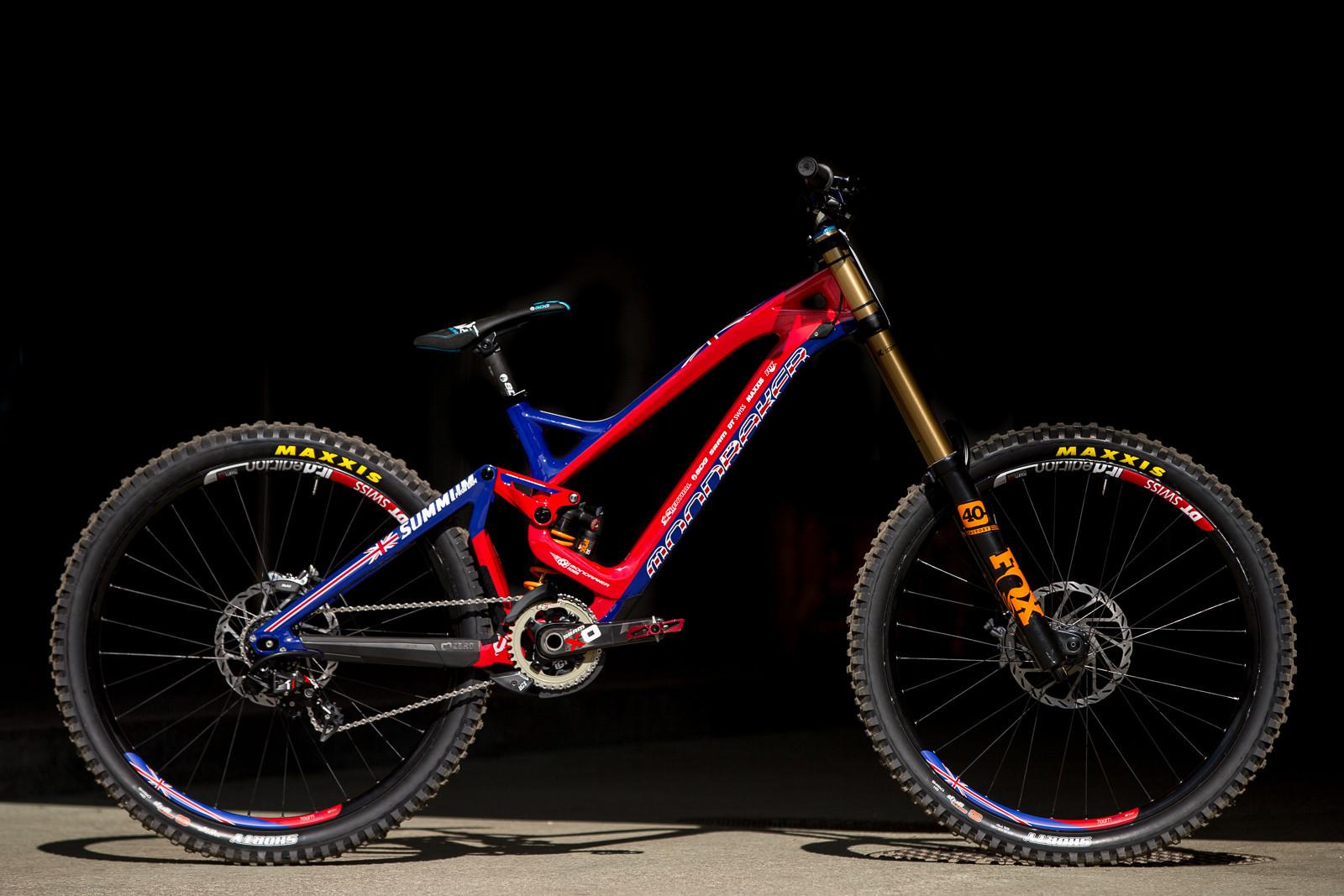 Danny Hart's Mondraker Summum  | 2016 World Champs Bike - PIT BITS & BIKES - 2016 World Champs - Mountain Biking Pictures - Vital MTB