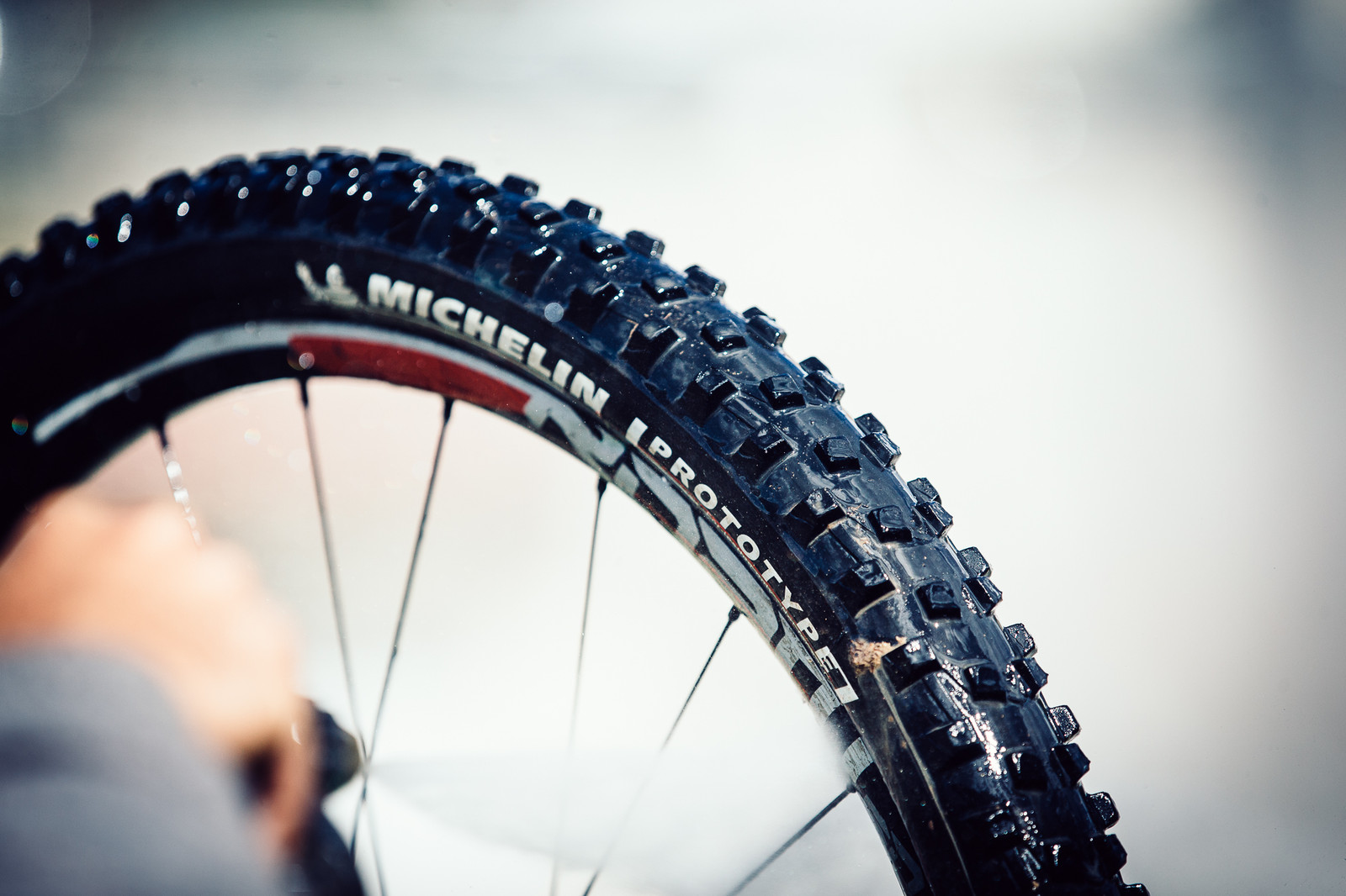 Jerome Clementz's Prototype Michelin Spikes - PIT BITS - Enduro World Series, Valberg - Mountain Biking Pictures - Vital MTB