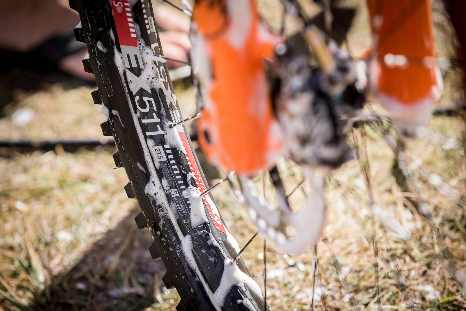 Wide Rims for Richie - PIT BITS - Enduro World Series, Valberg - Mountain Biking Pictures - Vital MTB