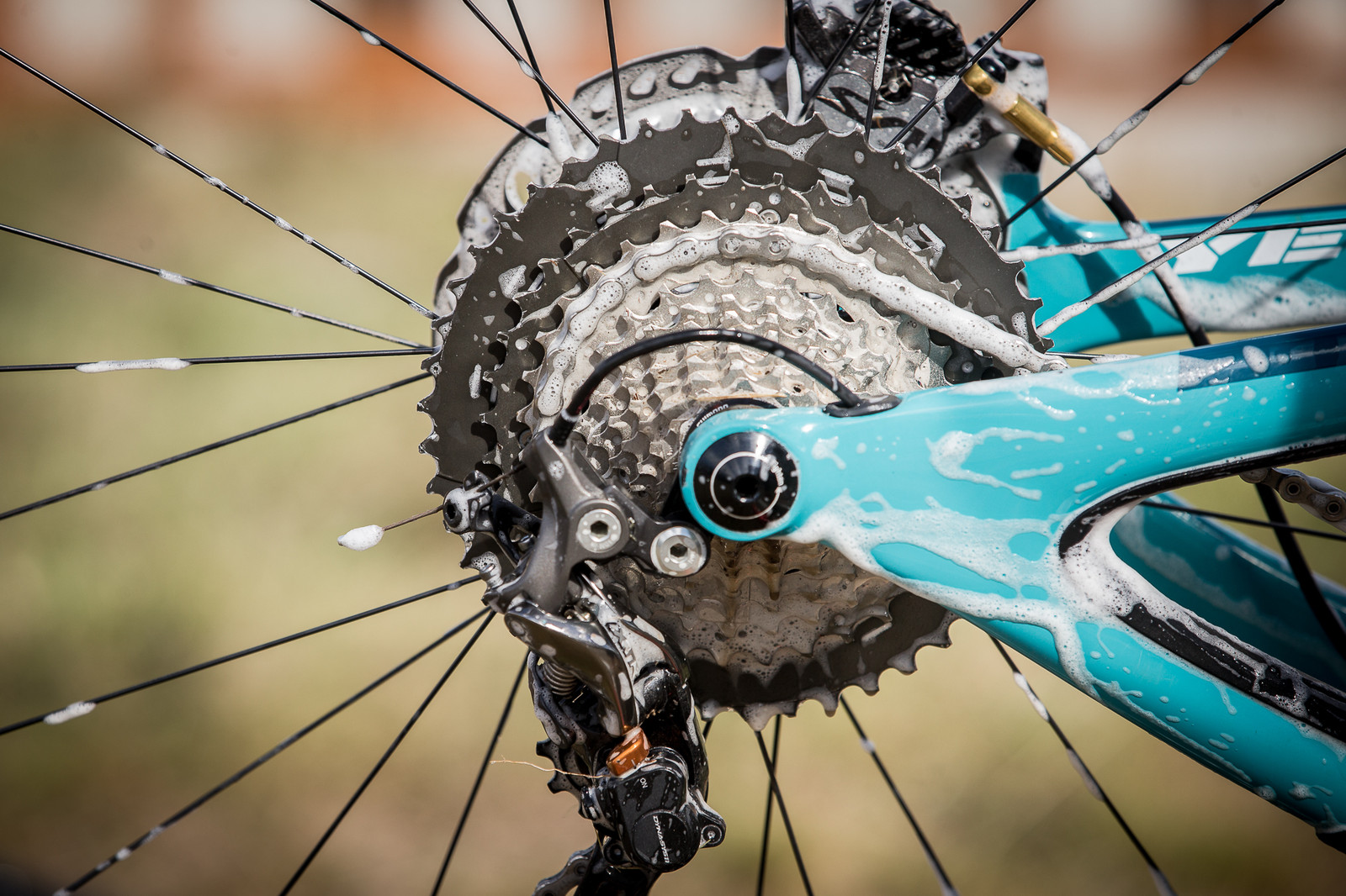 Richie Rude's Shimano 11-46t Shimano XT Cassette - PIT BITS - Enduro World Series, Valberg - Mountain Biking Pictures - Vital MTB