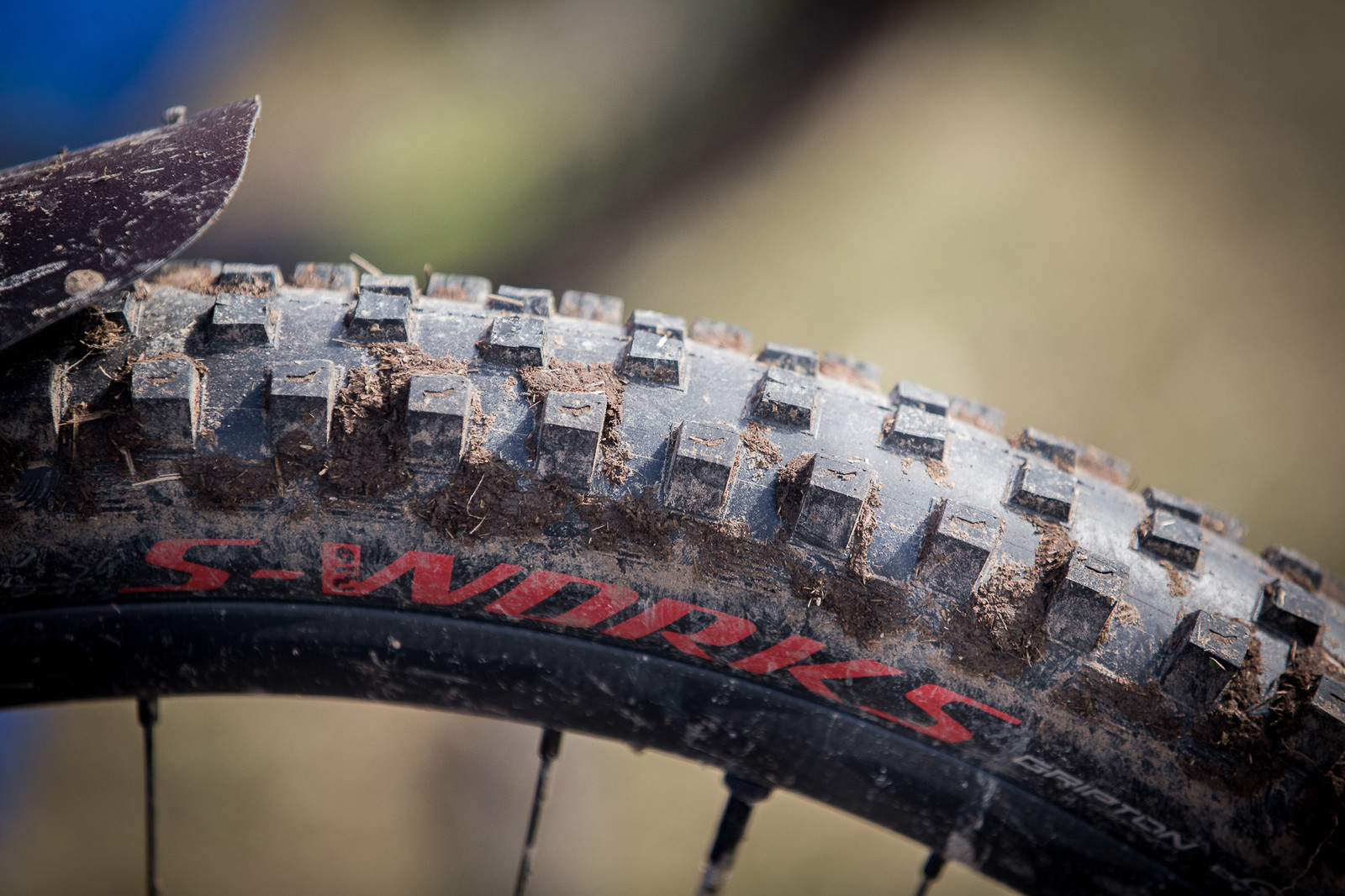 Prototype 29er Specialized Hillbilly Tires - PIT BITS - Enduro World Series, Valberg - Mountain Biking Pictures - Vital MTB
