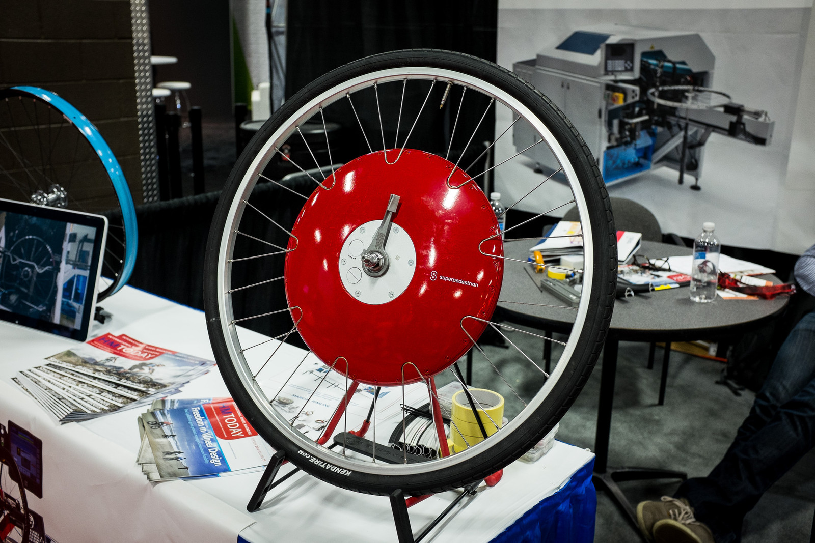 That's One Way to Lace a Wheel - INTERBIKE - 2017 WTF Gallery - Mountain Biking Pictures - Vital MTB