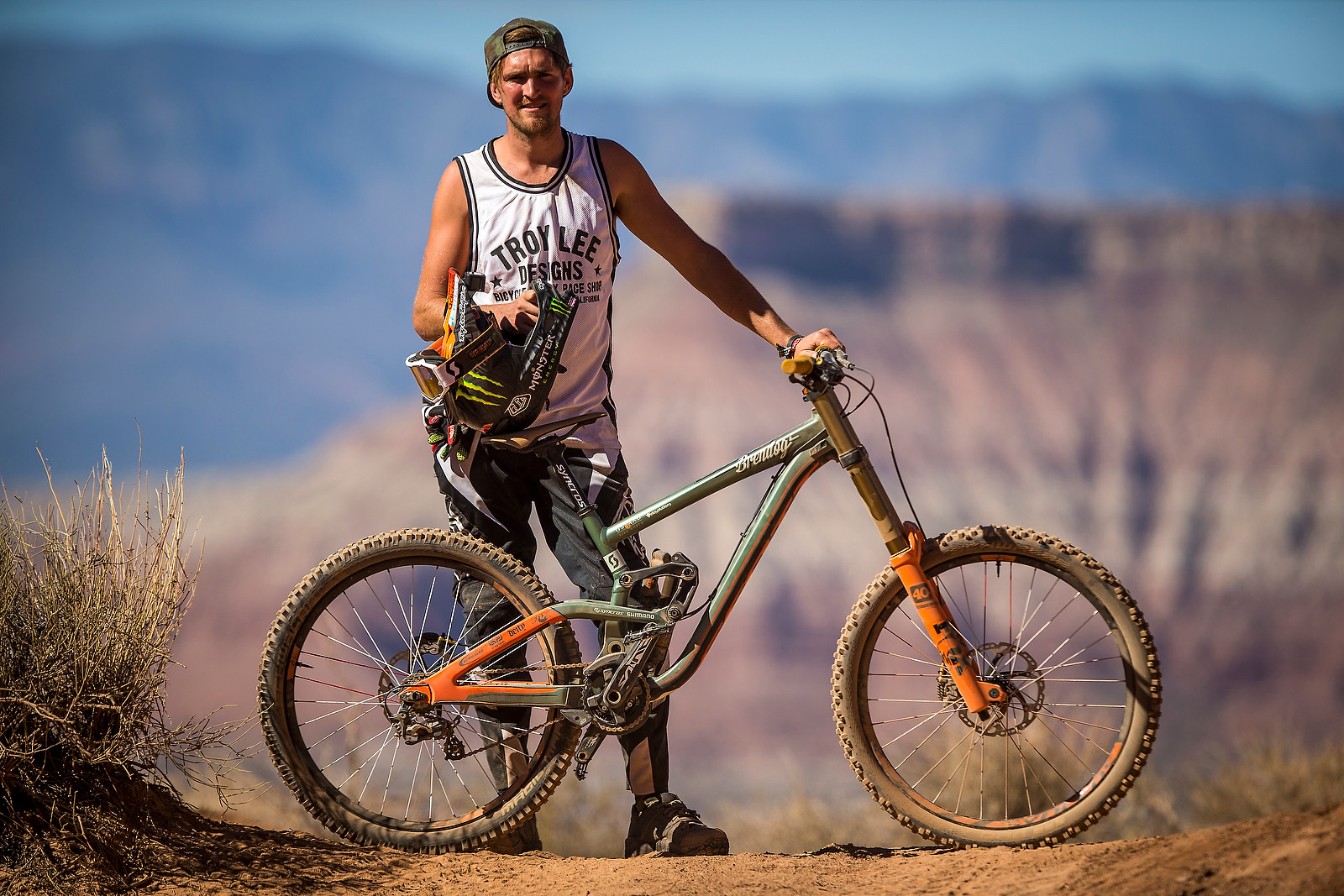 Brendan Fairclough's Scott Gambler - Pro Bikes - Red Bull Rampage - Mountain Biking Pictures - Vital MTB