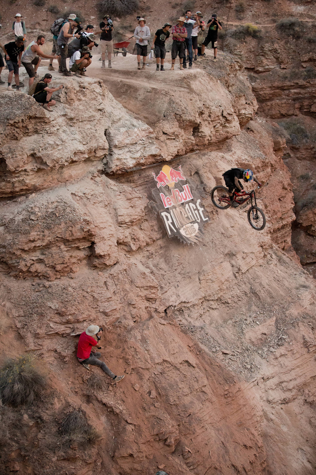 Andreu Lacondeguy Launches - Going Big at Rampage - Line Testing - Mountain Biking Pictures - Vital MTB