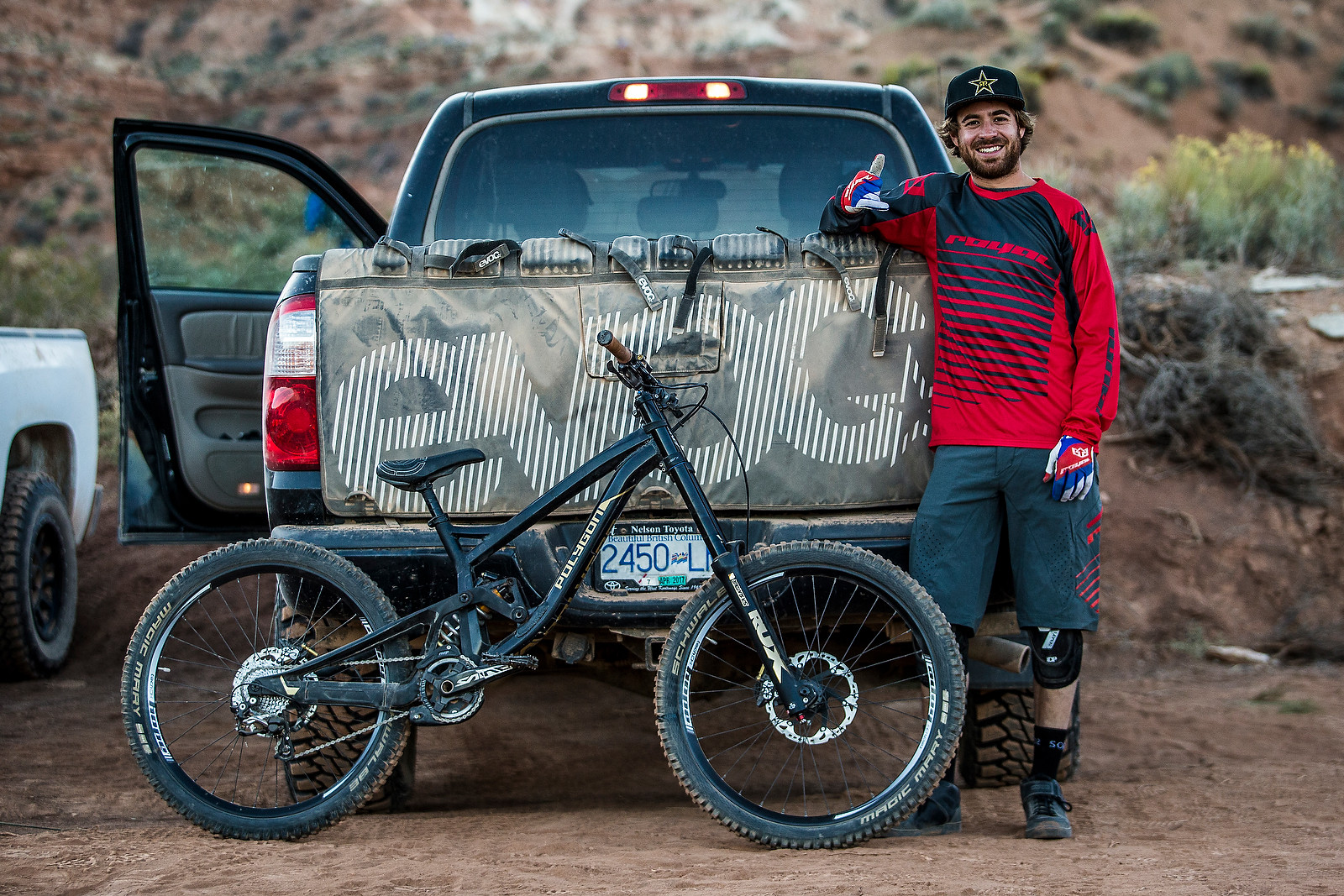 Kurt Sorge and his Polygon Collusus DH9 - Pro Bikes - Red Bull Rampage - Mountain Biking Pictures - Vital MTB