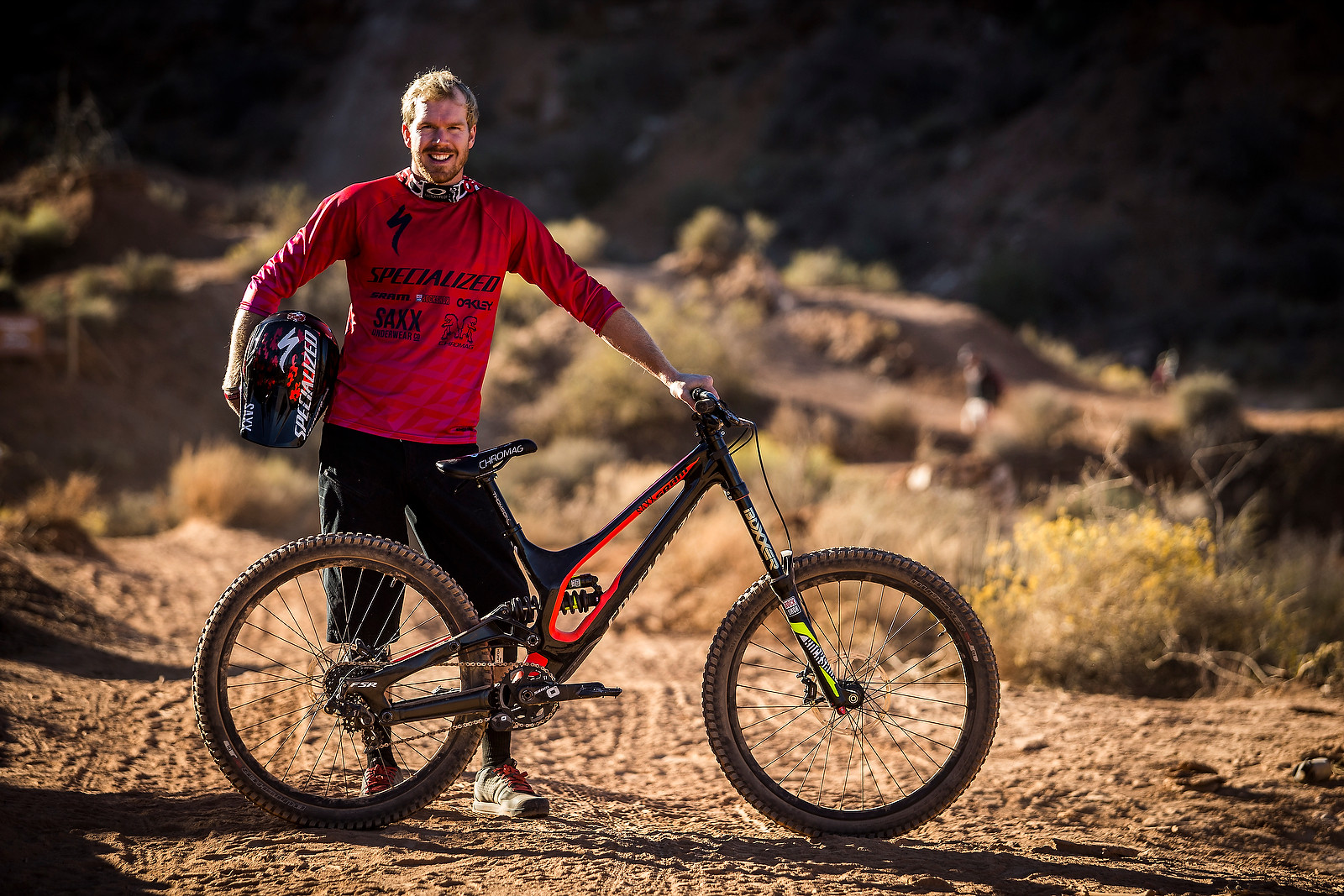 Kyle Norbraten with his Specialized Demo at Rampage - Pro Bikes - Red Bull Rampage - Mountain Biking Pictures - Vital MTB