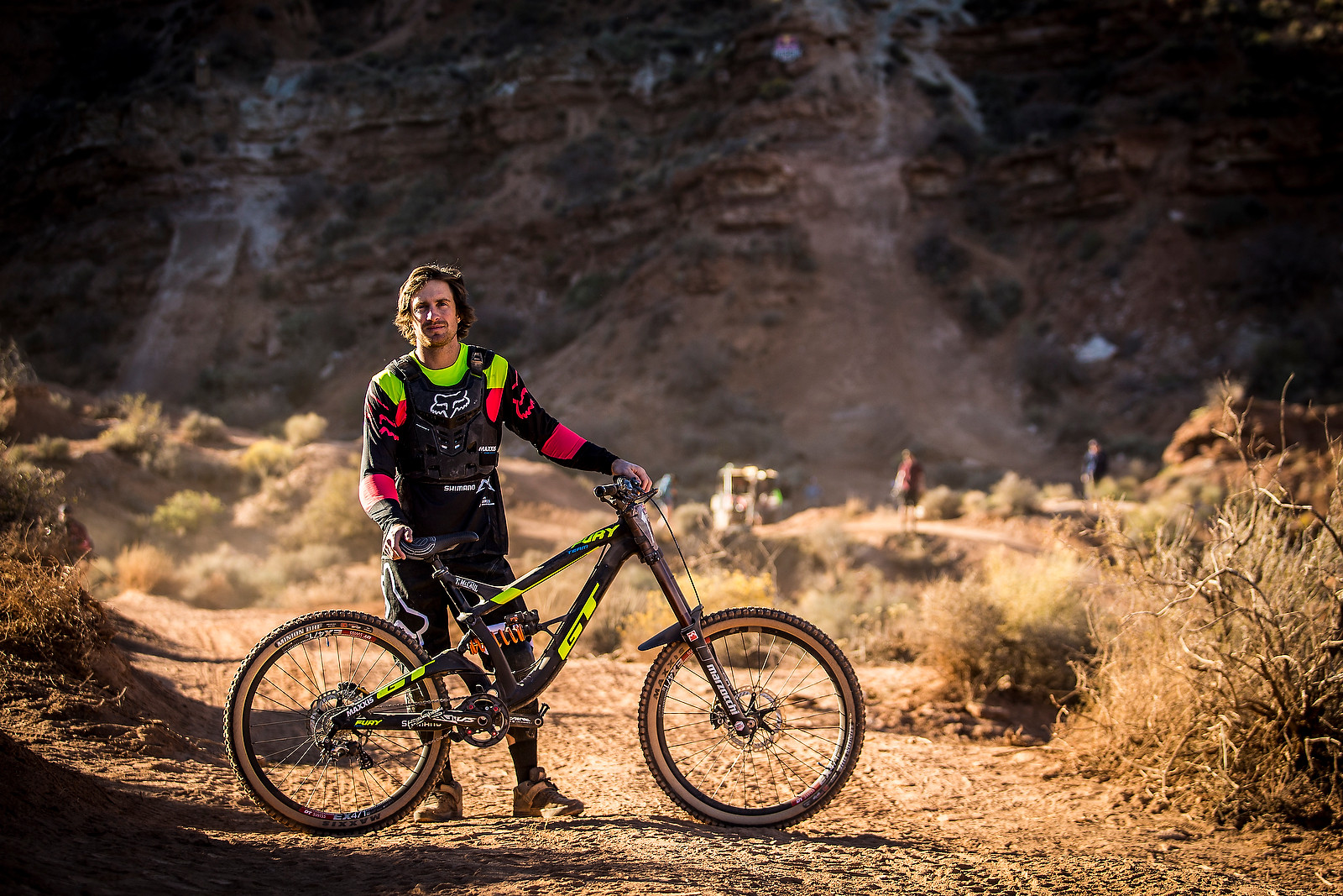Tyler McCaul with his GT Fury at Rampage - Pro Bikes - Red Bull Rampage - Mountain Biking Pictures - Vital MTB