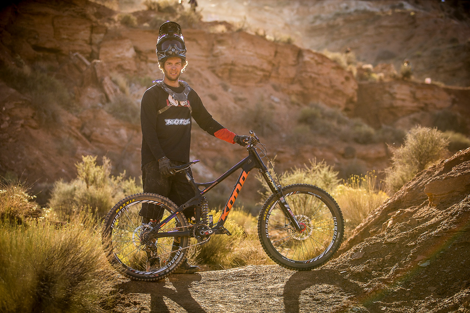 Antoine Bizet with his Kona Supreme Operator at Rampage - Pro Bikes - Red Bull Rampage - Mountain Biking Pictures - Vital MTB