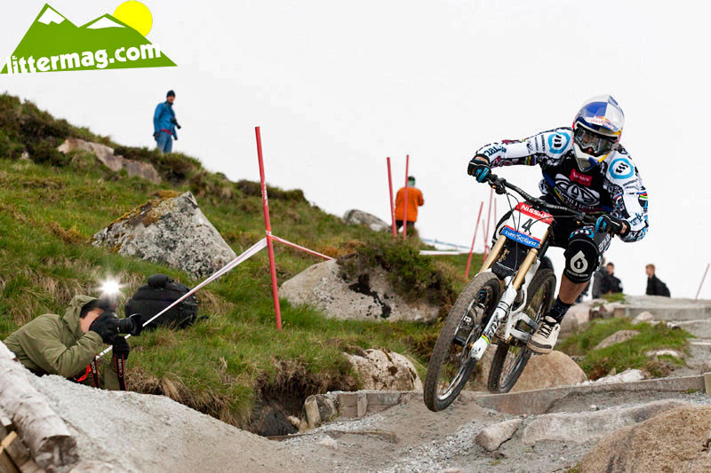 Gee Atherton, fastest qualifier - 2009 UCI World Cup Fort William - Day 3 - Mountain Biking Pictures - Vital MTB