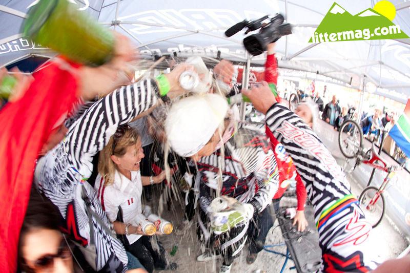 Greg Minnaar wins Fort William - 2009 UCI World Cup Fort William - Day 4 - Mountain Biking Pictures - Vital MTB