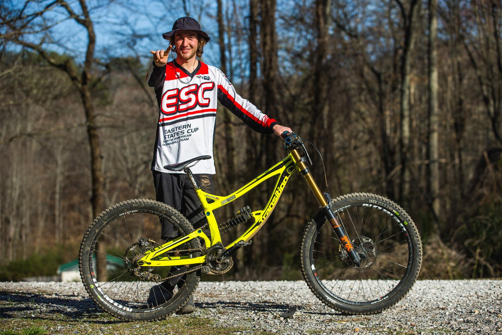 Pro GRT Pro Bike - Aidan Casner's Transition TR500 - Pro Bikes from Windrock Pro GRT - Mountain Biking Pictures - Vital MTB
