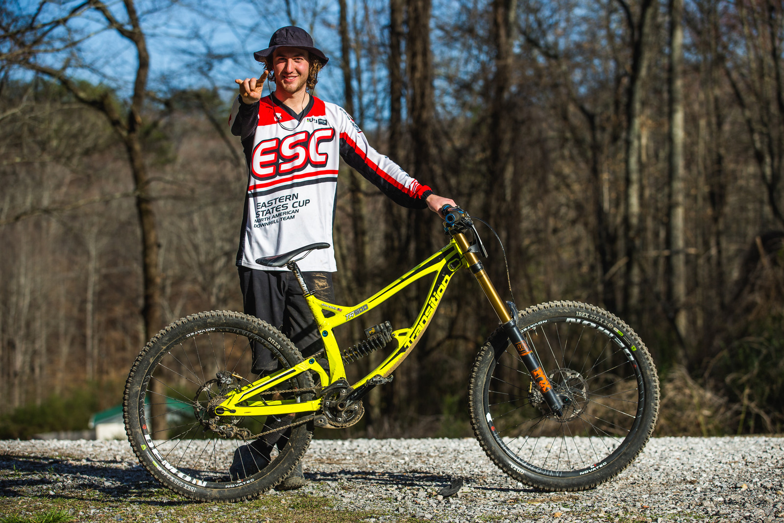 Pro GRT Pro Bike - Aidan Casner's Transition TR500 - Pro Bikes from Windrock Pro GRT - Mountain Biking Pictures - Vital MTB