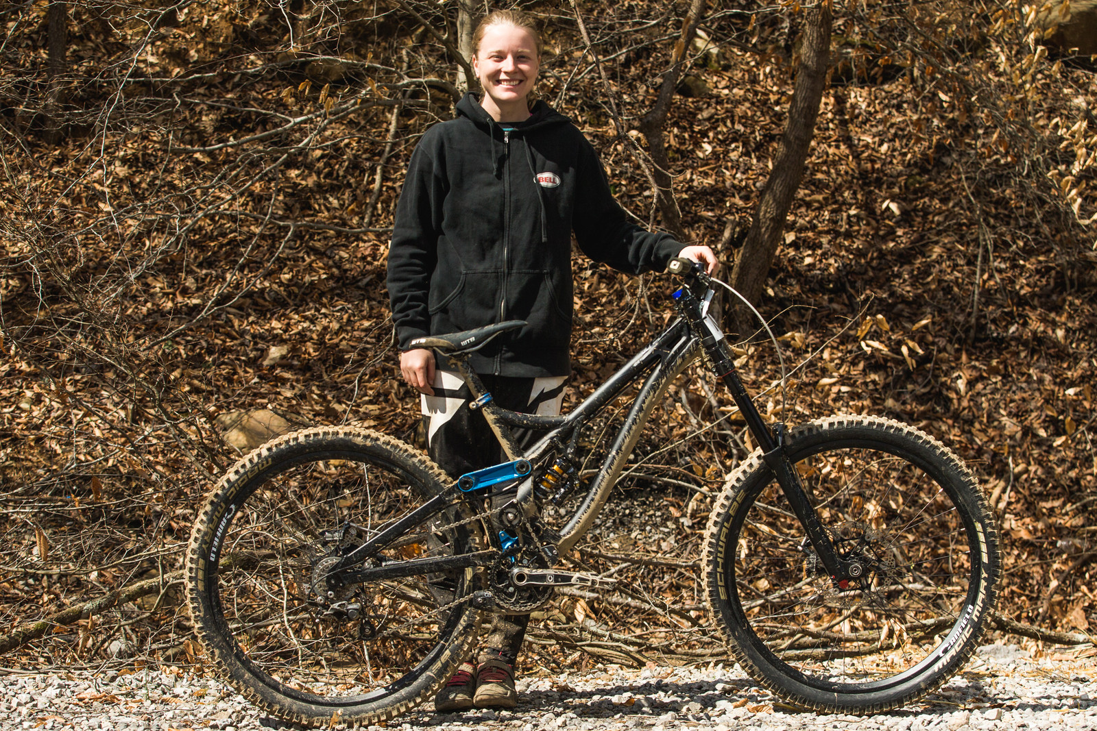 Pro GRT Pro Bike - Frida Ronning's Canfield Jedi - Pro Bikes from Windrock Pro GRT - Mountain Biking Pictures - Vital MTB