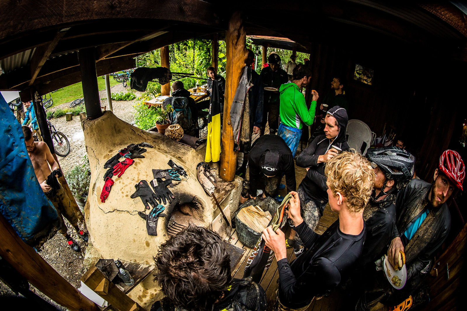 Lunch - NZ Enduro Day 2 - Mountain Biking Pictures - Vital MTB