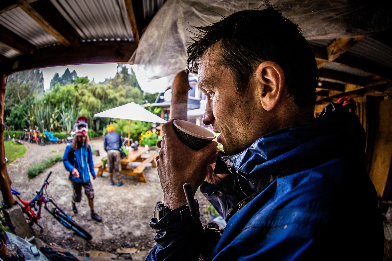 Tea and Coffee - NZ Enduro Day 2 - Mountain Biking Pictures - Vital MTB