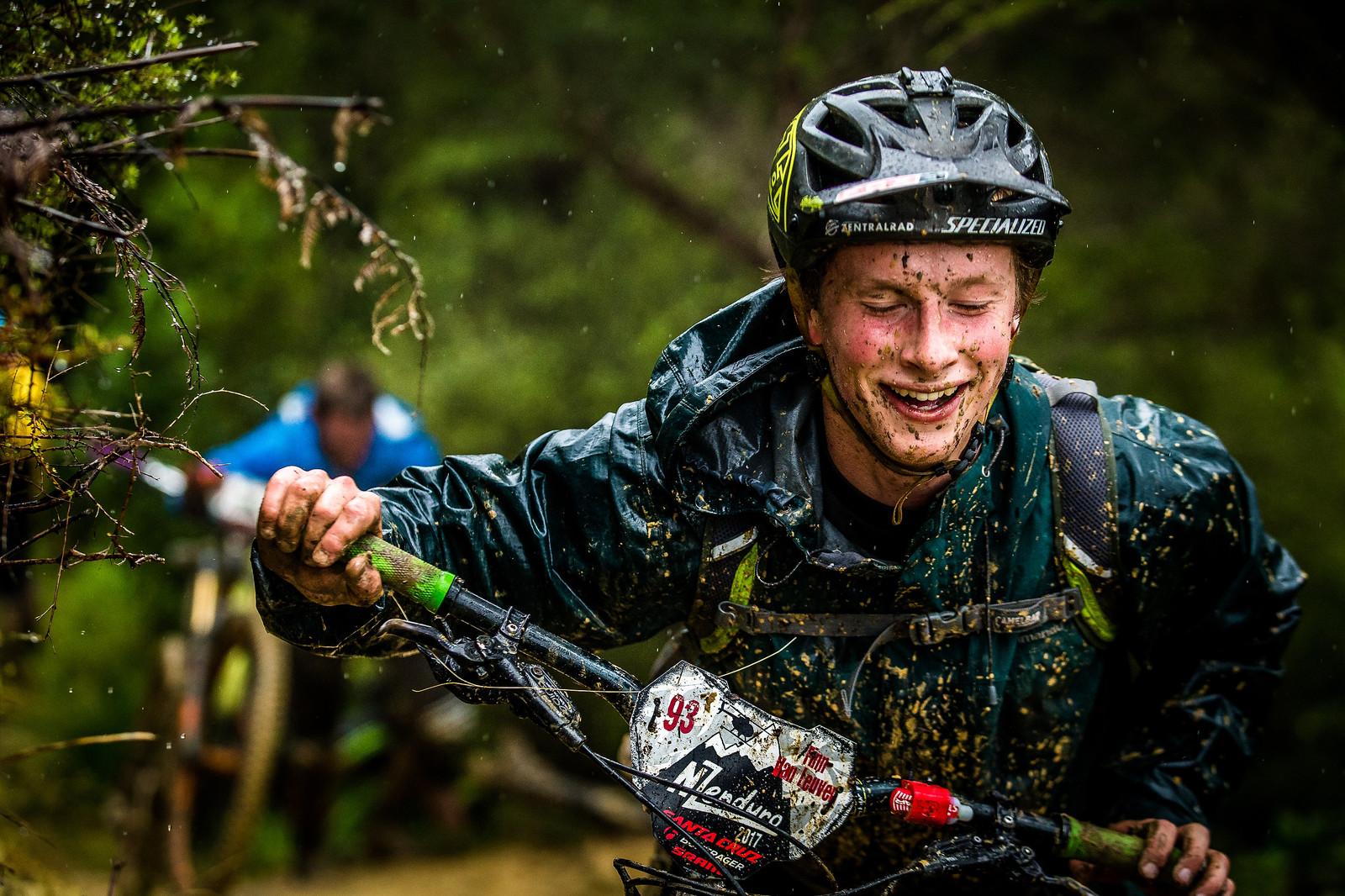 Rain and Pain But Still Smilling - NZ Enduro Day 2 - Mountain Biking Pictures - Vital MTB