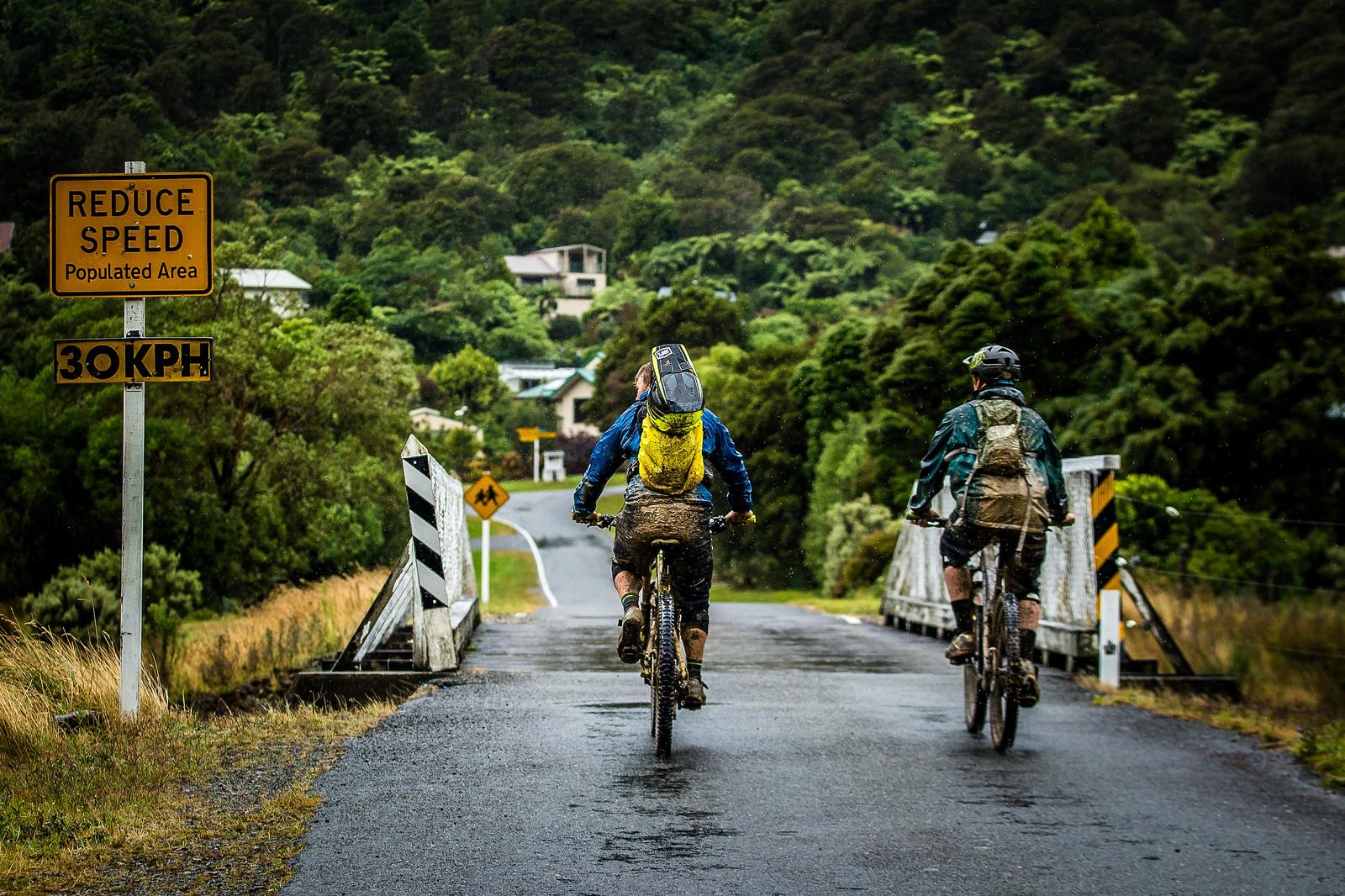 Stage 2 Transfer - NZ Enduro Day 2 - Mountain Biking Pictures - Vital MTB