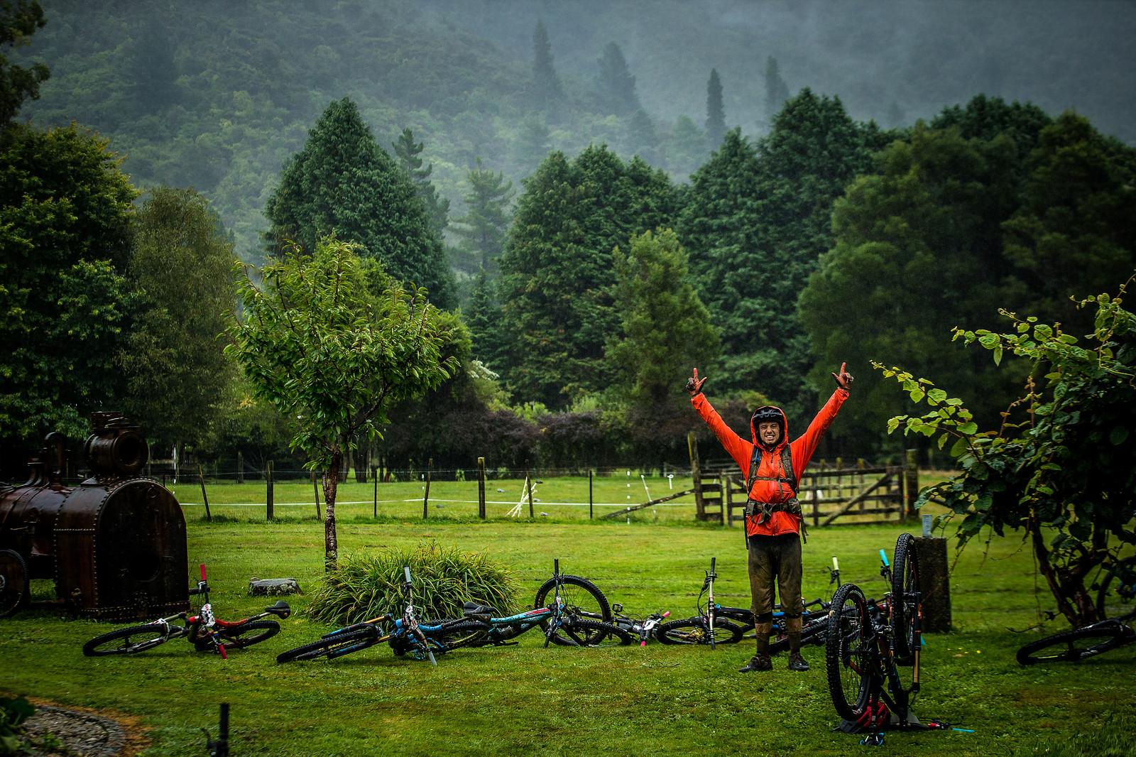 Sam Needham and Gary Perkin - NZ Enduro Day 2 - Mountain Biking Pictures - Vital MTB