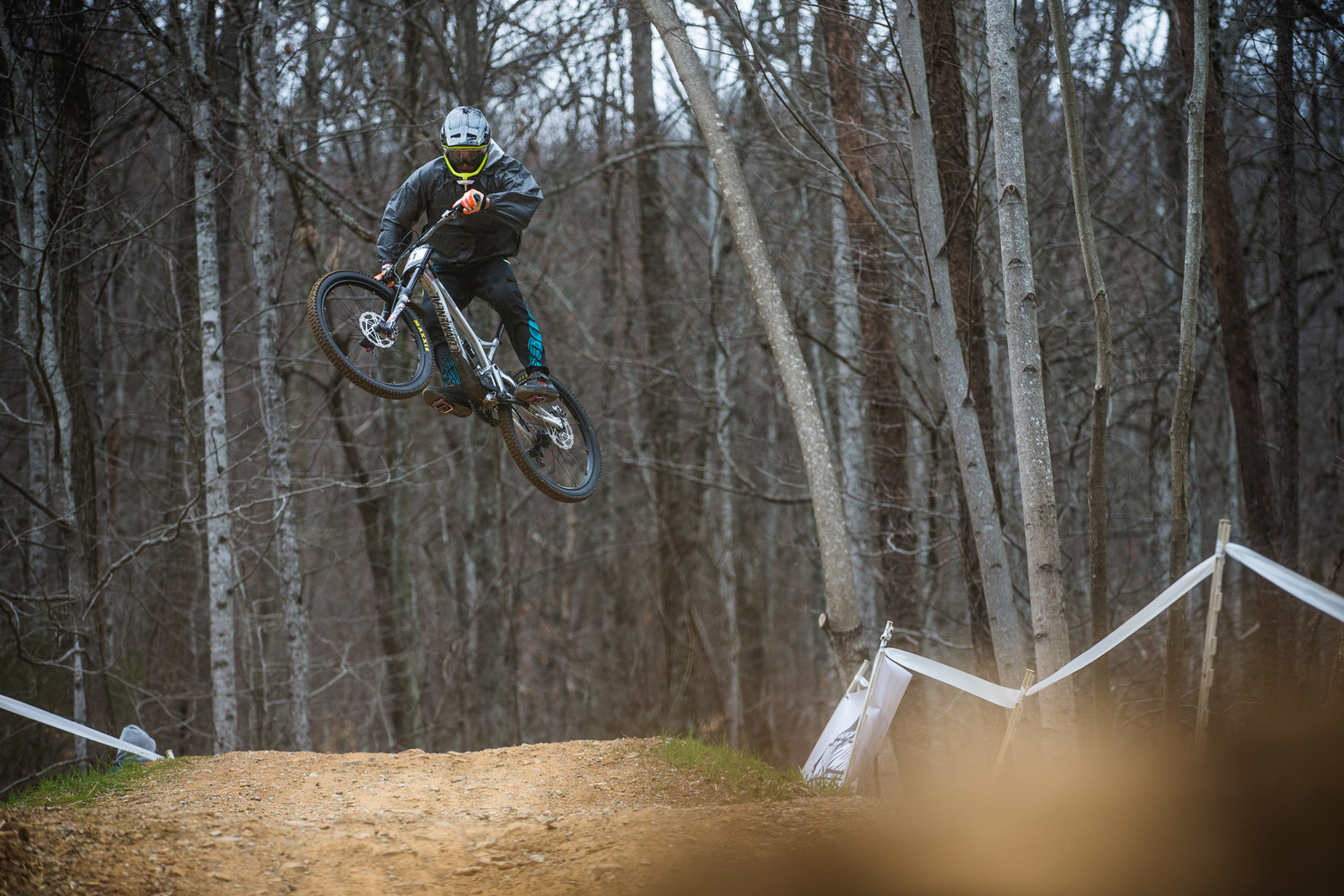 50 Photos from Race Day at the Windrock Pro GRT - Luca Cometti Hucks - 50 Photos from Race Day at the Windrock Pro GRT - Mountain Biking Pictures - Vital MTB