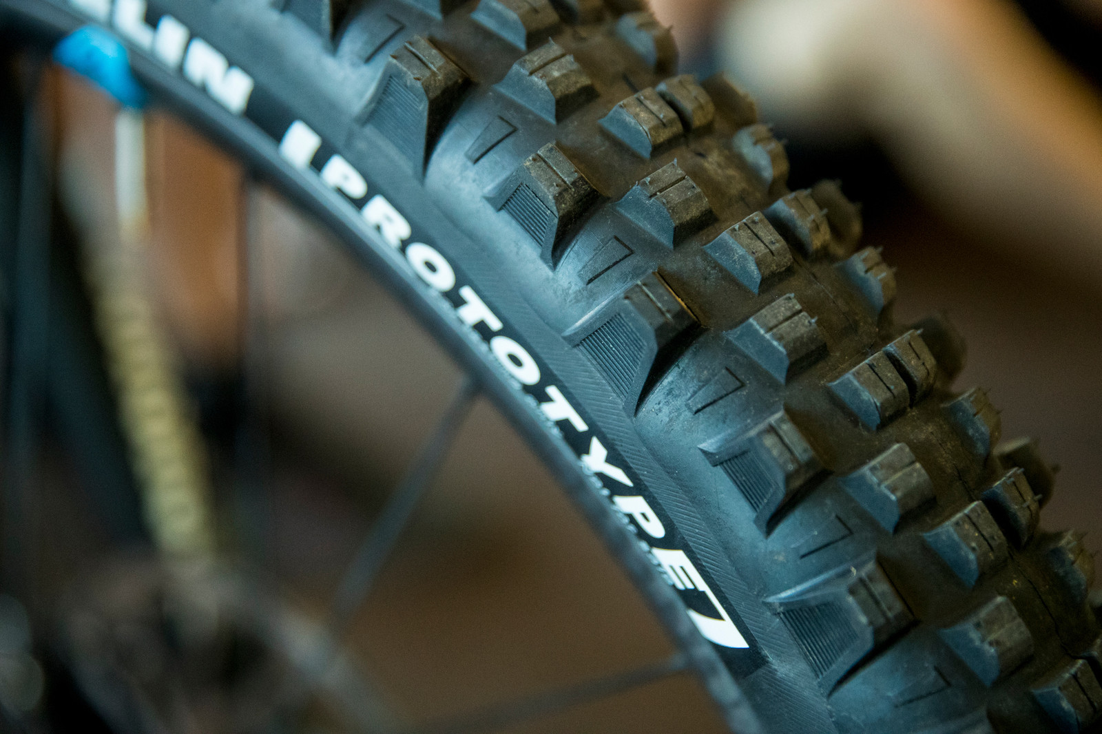 Michelin Prototypes for Jerome Clementz - PIT BITS - Enduro World Series, Rotorua, New Zealand - Mountain Biking Pictures - Vital MTB
