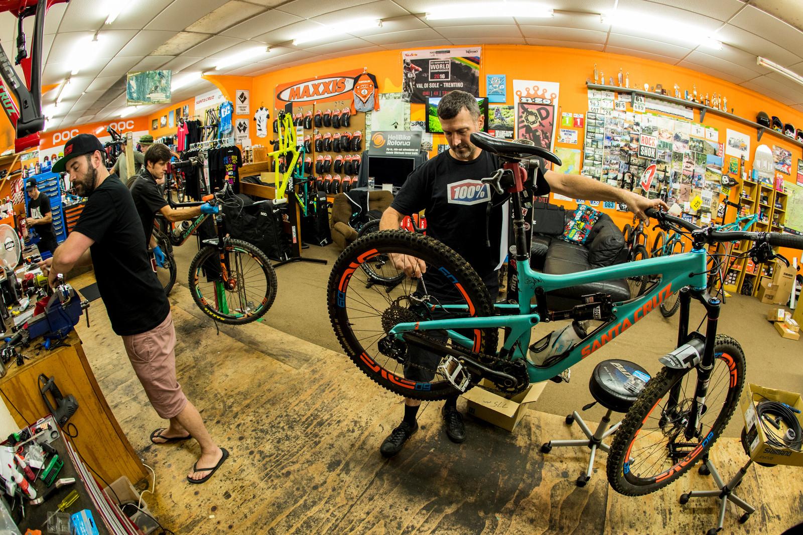 BIKE Culture Shop in Rotorua - PIT BITS - Enduro World Series, Rotorua, New Zealand - Mountain Biking Pictures - Vital MTB