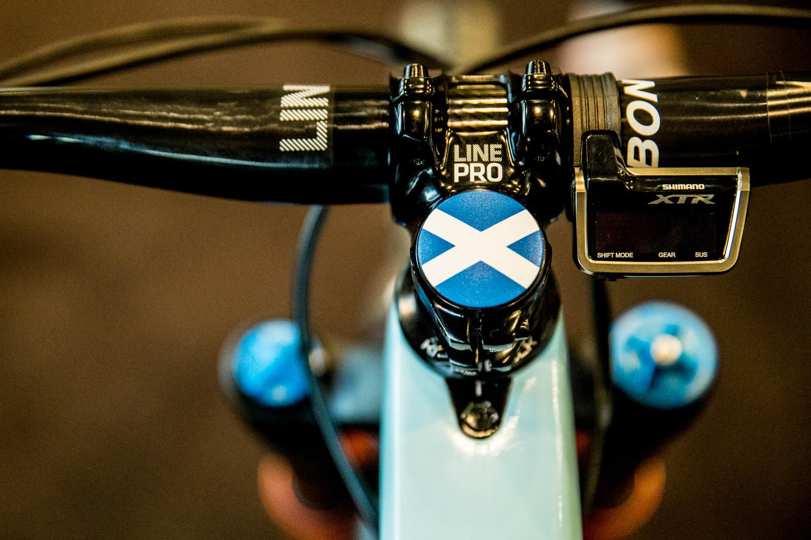 Scottish Pride - PIT BITS - Enduro World Series, Rotorua, New Zealand - Mountain Biking Pictures - Vital MTB