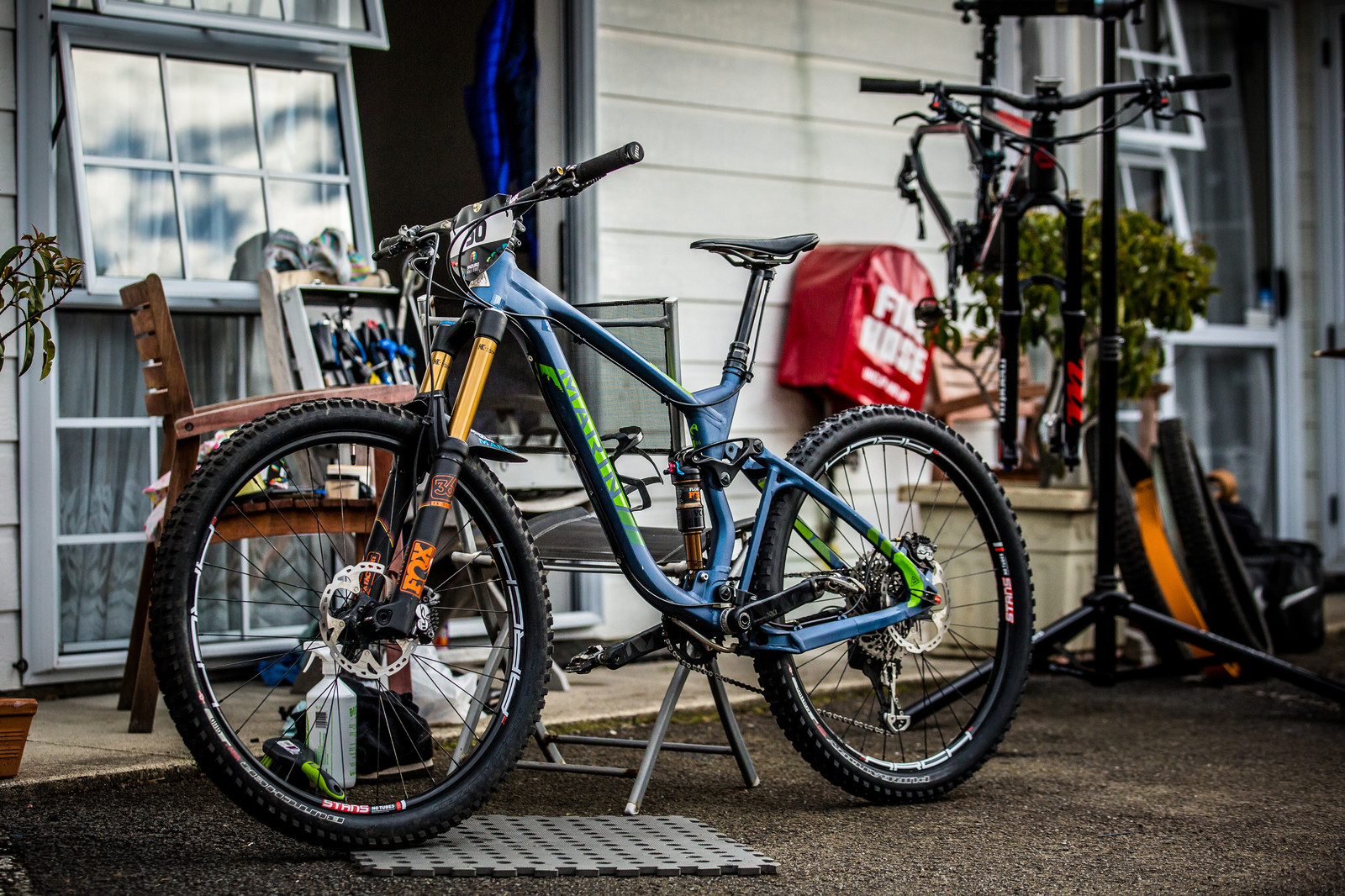 Marin in the House - PIT BITS - Enduro World Series, Rotorua, New Zealand - Mountain Biking Pictures - Vital MTB