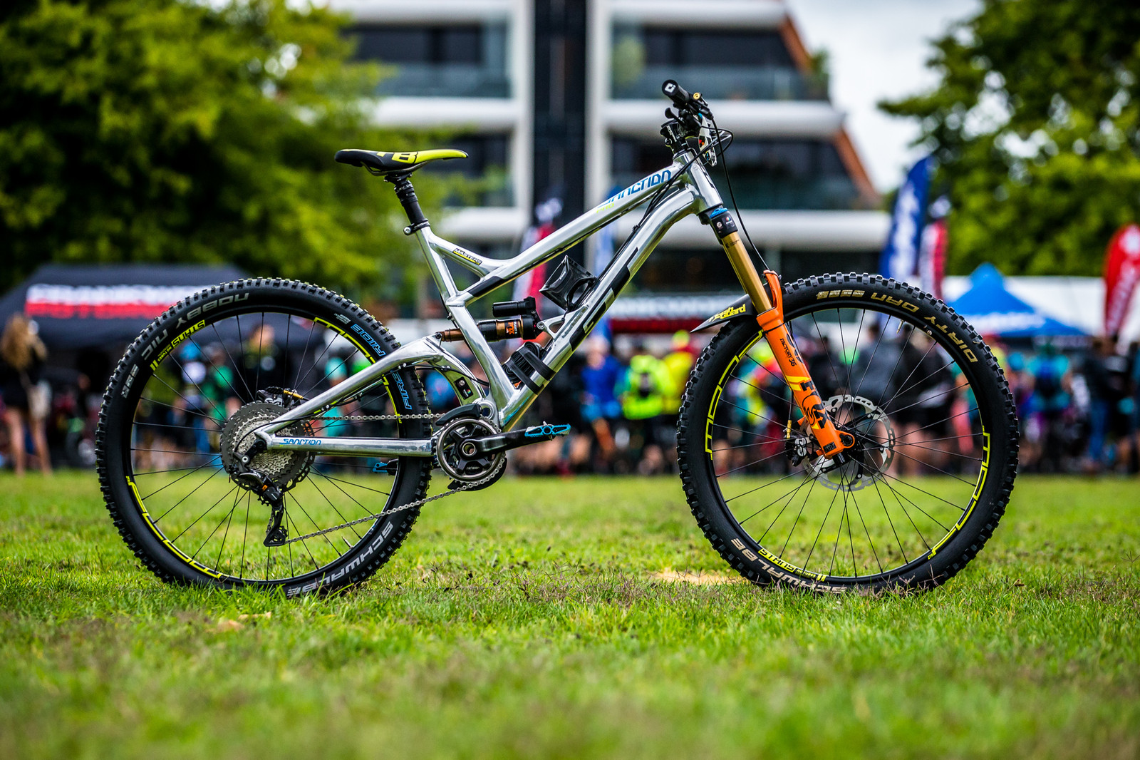 Winning Bike: Wyn Masters' GT Sanction - PIT BITS - Enduro World Series, Rotorua, New Zealand - Mountain Biking Pictures - Vital MTB