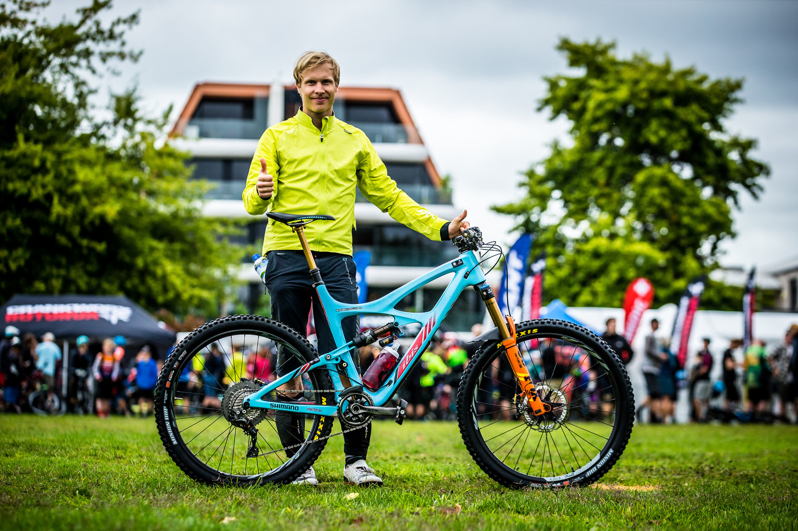 Robin Wallner and his Ibis - PIT BITS - Enduro World Series, Rotorua, New Zealand - Mountain Biking Pictures - Vital MTB