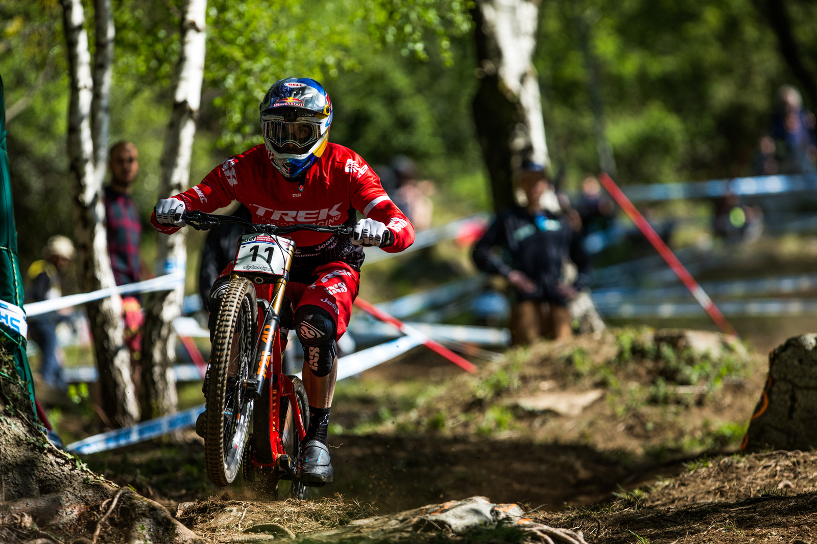 Gee Atherton - Lourdes World Cup Timed Training Action Photos - Mountain Biking Pictures - Vital MTB