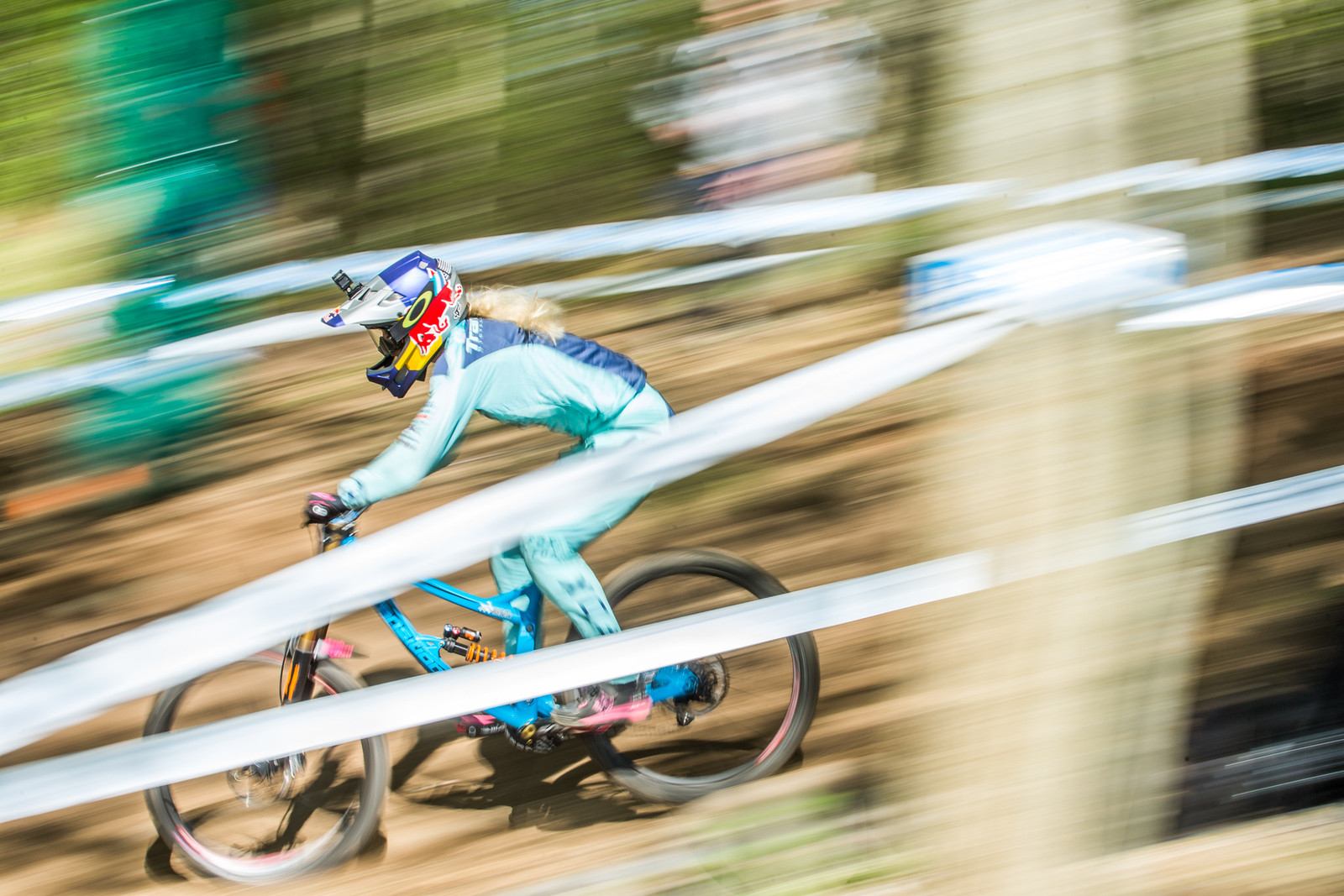 Tahnee Seagrave - Lourdes World Cup Timed Training Action Photos - Mountain Biking Pictures - Vital MTB