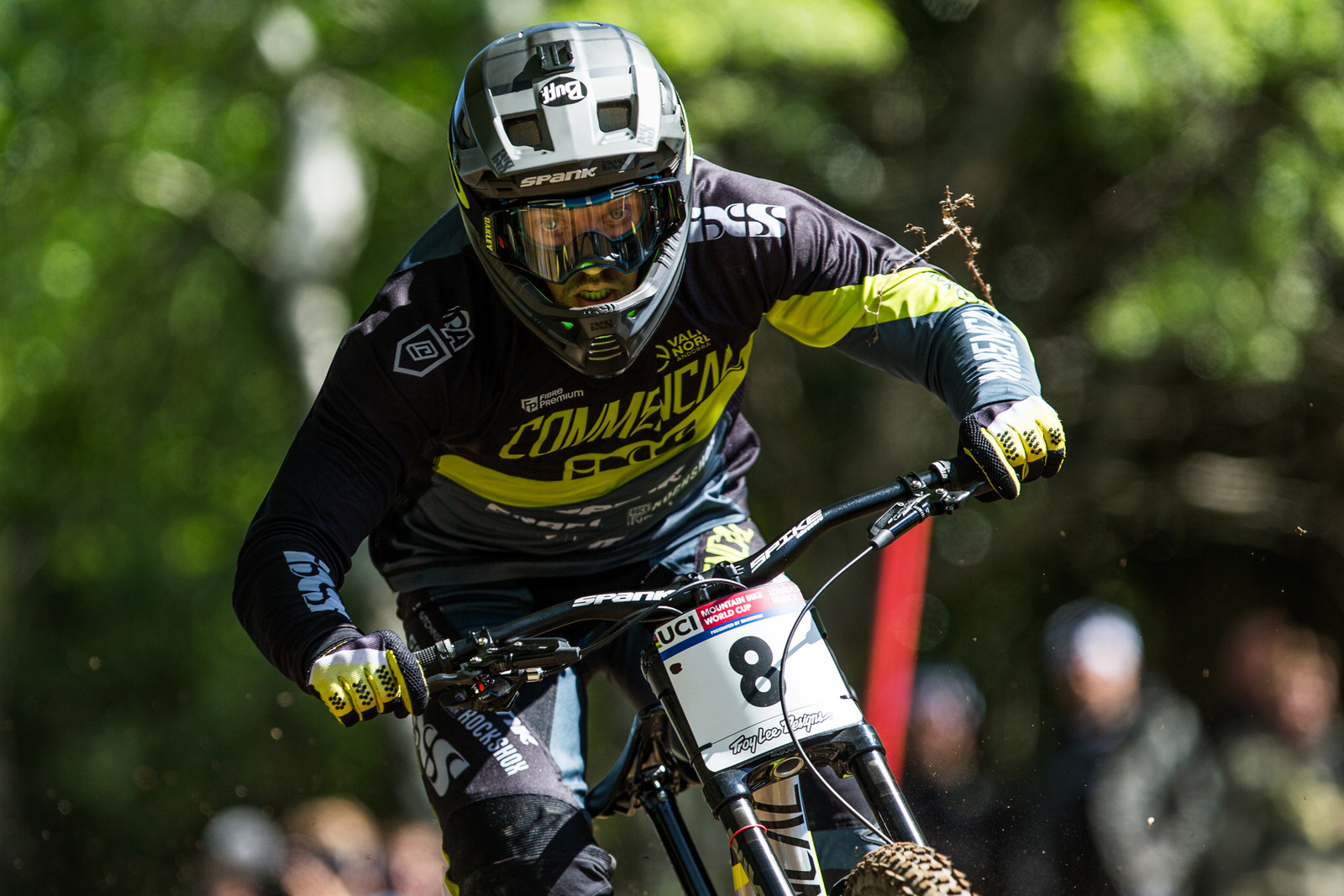 Remi Thirion - Lourdes World Cup Timed Training Action Photos - Mountain Biking Pictures - Vital MTB
