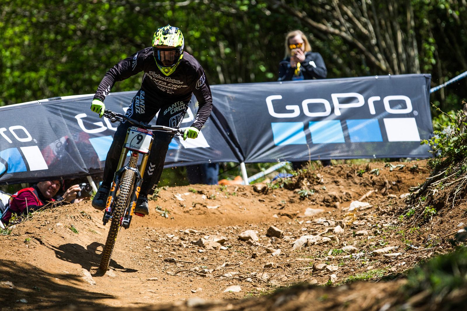 Luca Shaw - Lourdes World Cup Timed Training Action Photos - Mountain Biking Pictures - Vital MTB