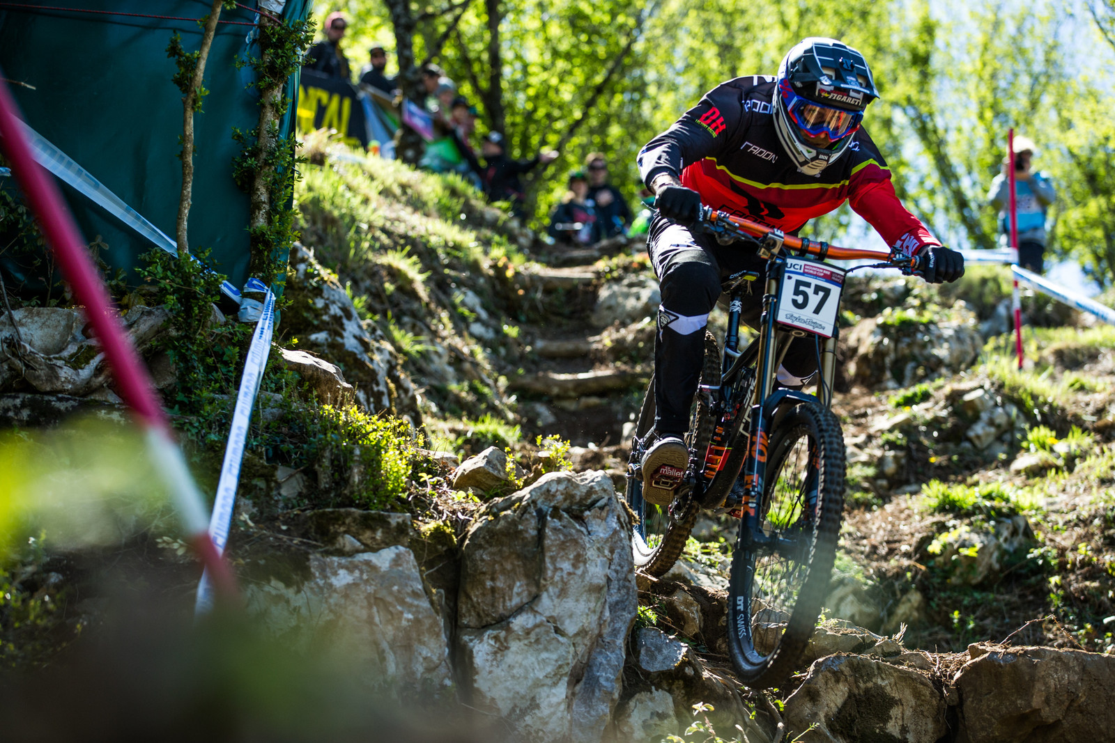 Faustin Figaret - Lourdes World Cup Timed Training Action Photos - Mountain Biking Pictures - Vital MTB