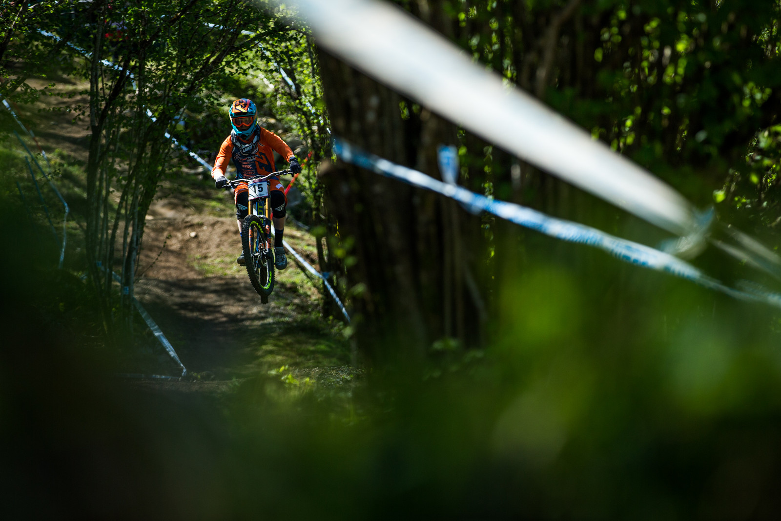 Bernard Kerr - Lourdes World Cup Timed Training Action Photos - Mountain Biking Pictures - Vital MTB