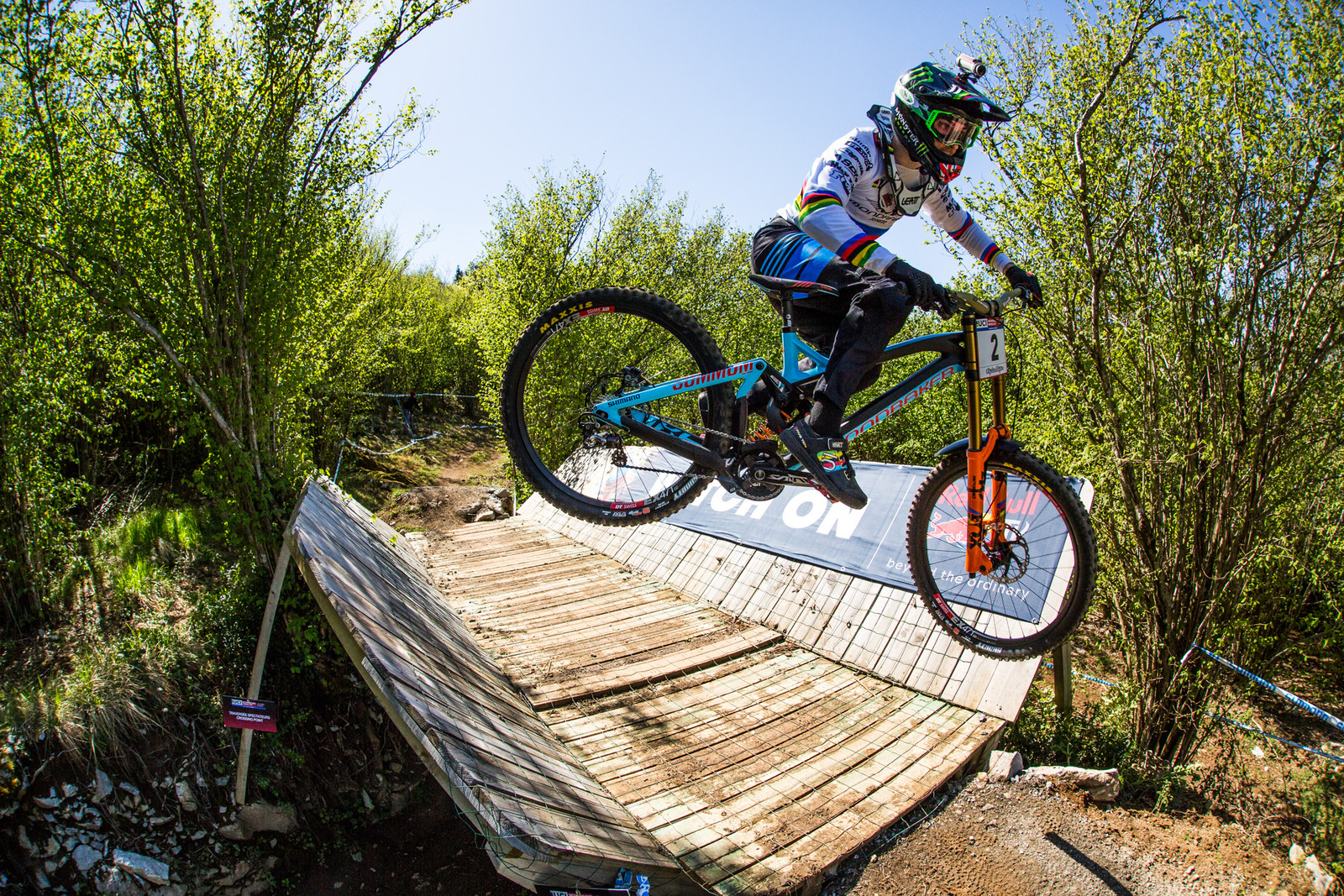 Danny Hart - Lourdes World Cup Timed Training Action Photos - Mountain Biking Pictures - Vital MTB