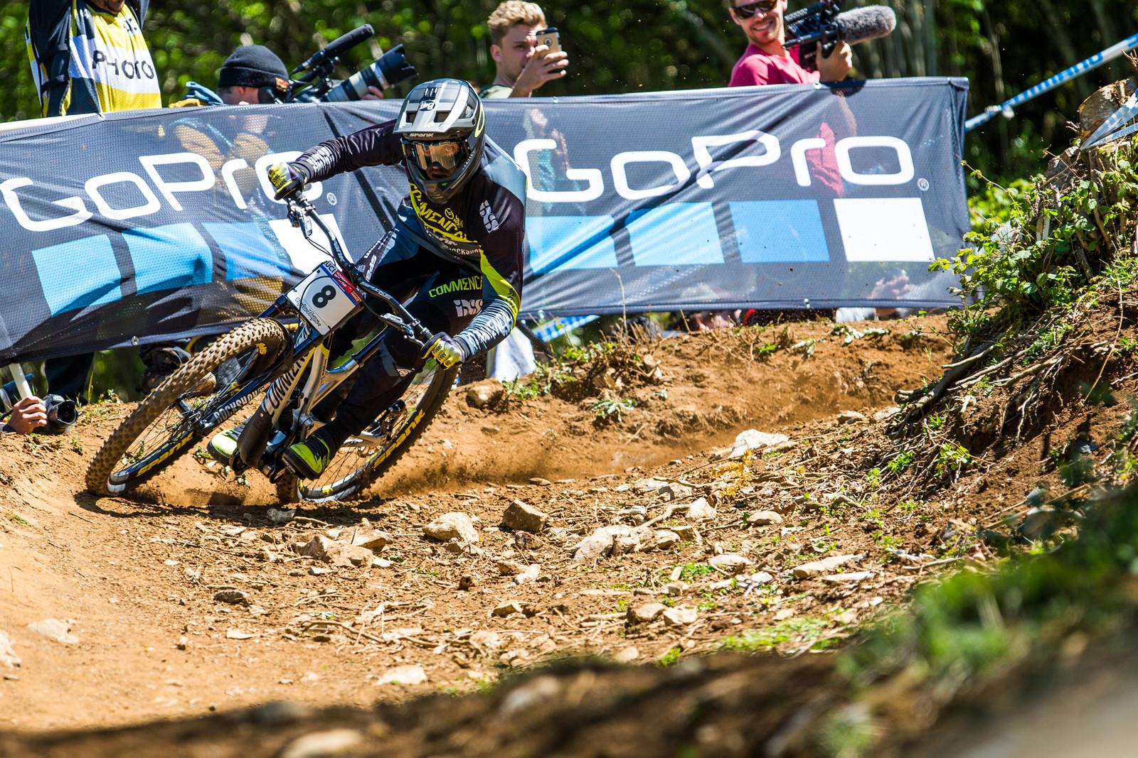 Remi Thirion - Lourdes World Cup Tire-Folding Corner Photos - Mountain Biking Pictures - Vital MTB