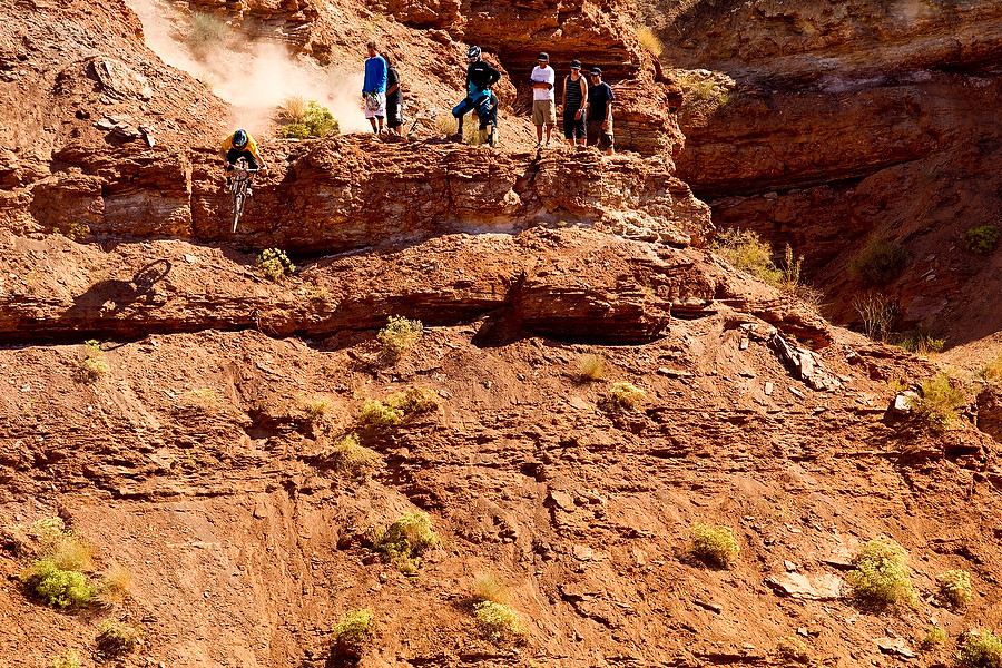 Mike Hopkins - 2010 Red Bull Rampage Finals Practice - Mountain Biking Pictures - Vital MTB