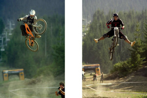 Crankworx 2004, Super T and Jordie Lunn