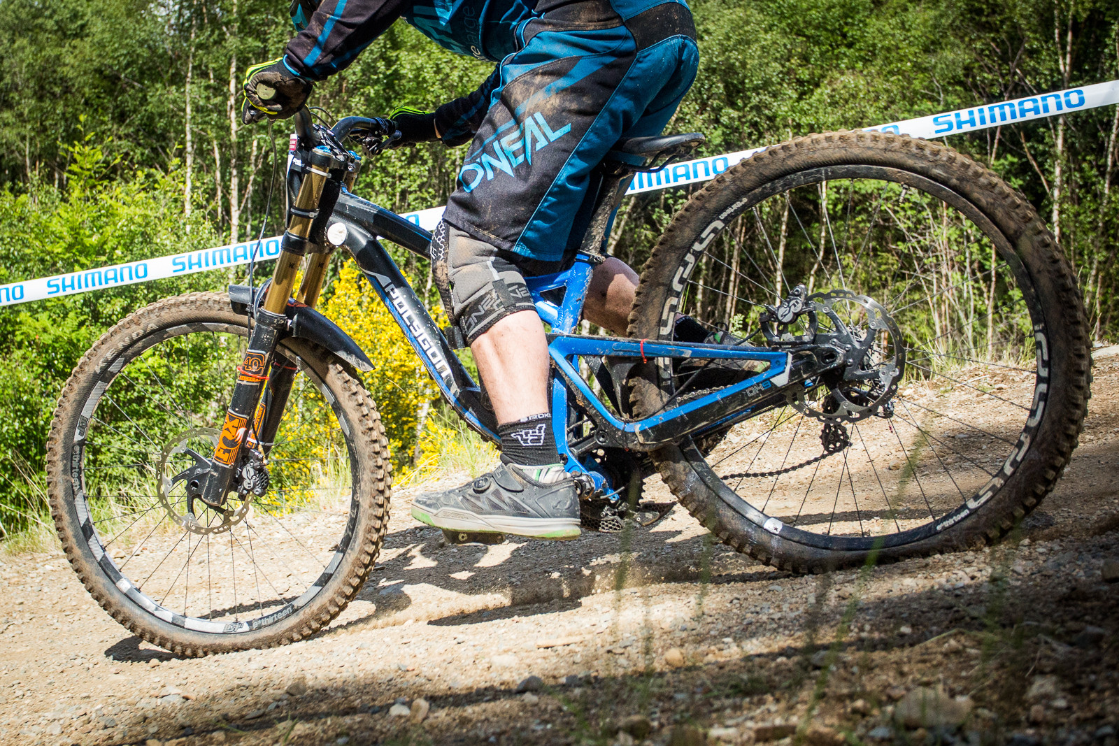 Polygon DH9 - G-Out Project, Fort William - Mountain Biking Pictures - Vital MTB